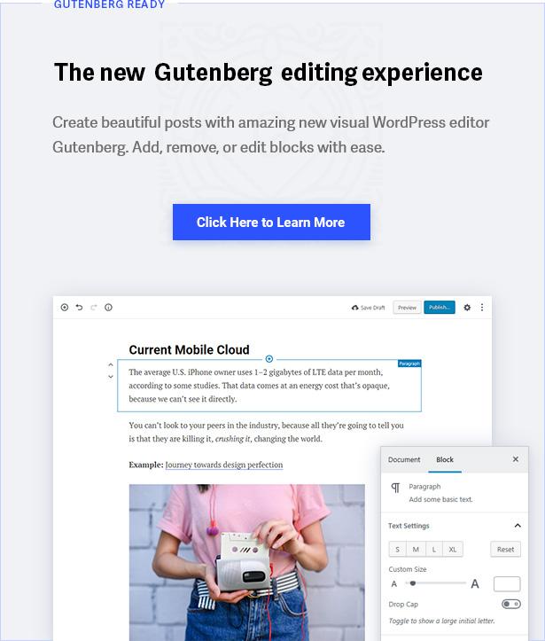 2 gutenberg - Contentberg - Content Marketing & Personal Blog