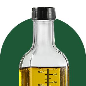 20ea0aec 563b 42f6 aef9 c3ba048d2610.  CR0,0,300,300 PT0 SX300 V1    - Aozita 17oz Glass Olive Oil Dispenser Bottle - 500ml Clear -Oil & Vinegar Cruet with Pourers and Funnel - Olive Oil Carafe Decanter for Kitchen