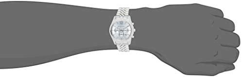 21ZC+3V1IYL. AC  - Michael Kors Lexington Chronograph Stainless Steel Watch