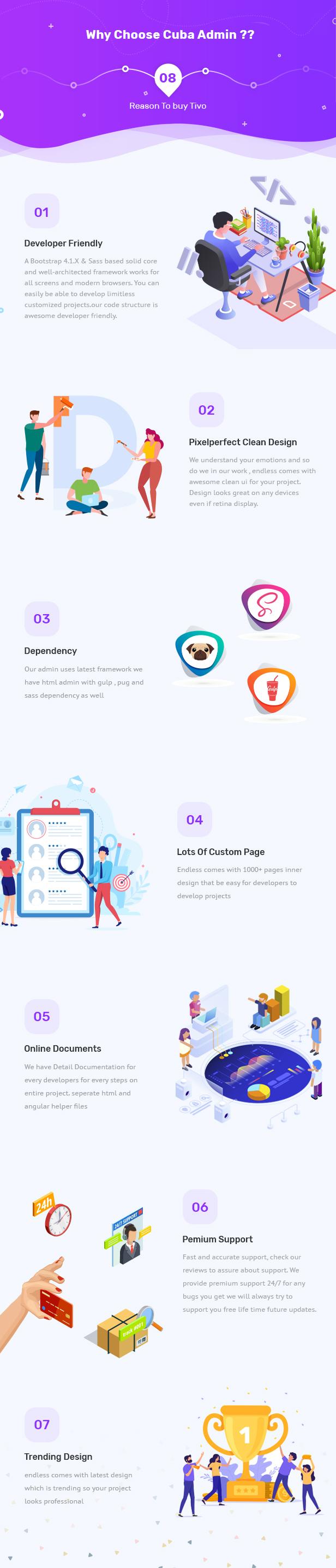 3 - Cuba- Bootstrap 4 & 5 HTML, React, Angular 11, VueJS & Laravel Admin Dashboard Template