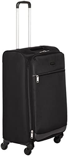 31HTB z88XL. AC  - Amazon Basics Softside Spinner Luggage Suitcase - 30.9 Inch, Black