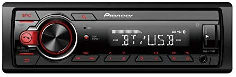 """31QR1Z  yKL. AC  - Pioneer Stereo Single DIN Bluetooth In-Dash USB MP3 Auxiliary AM/FM/Digital Media Pandora and Spotify Car Stereo Receiver with Pair of 6.5"""" and Pair of 6x9"""" Alphasonik Speakers"""
