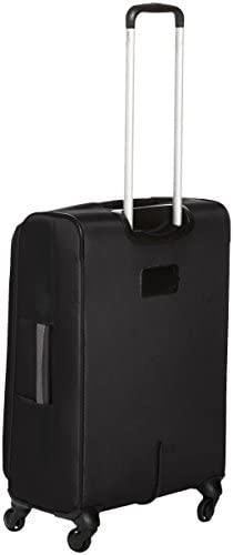 31UrPEP5ODL. AC  - Amazon Basics Softside Spinner Luggage Suitcase - 30.9 Inch, Black