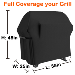 33c46de0 43df 4d10 83ff 57c93b6c9657.  CR0,0,300,300 PT0 SX300 V1    - Grill Cover 58 Inch BBQ Grill Cover Waterproof Gas Grill Covers, Heavy Duty Patio Outdoor Barbecue Grill Cover, Dustproof Windproof Anti UV and Tear Resistant