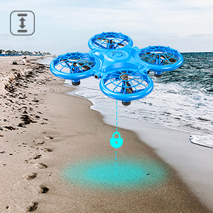 40783397 dd41 493c 8b8b 4d7f253f6564.  CR0,0,300,300 PT0 SX300 V1    - Dragon Touch DK01 Mini Drones for Kids, Multiple Remote Controls-Hand Operated RC Quadcopter, G-Sensor Mode, 3D Flips, Altitude Hold, Headless Mode, One Key Return&Speed Adjustment