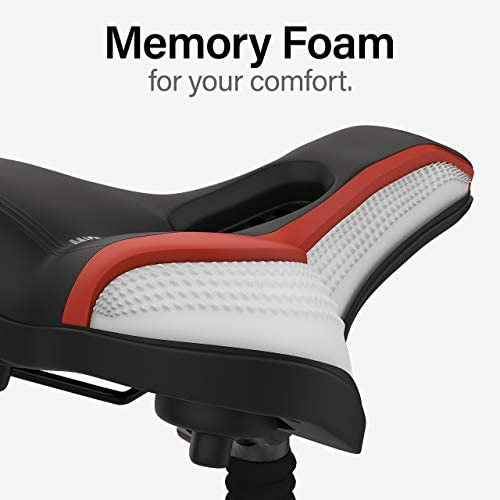4109G9 6OtL. AC  - Wittkop Bike Seat [City] Bicycle Seat for Men and Women, Waterproof Bike Saddle with Innovative 5-Zone-Concept Exercise Bike Seat - Wide Bike Seat