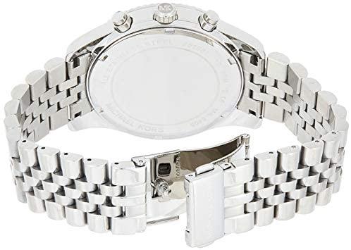 41DDm fk1RL. AC  - Michael Kors Lexington Chronograph Stainless Steel Watch
