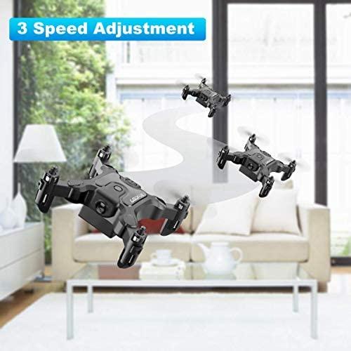 41Fm5tUxJgL. AC  - 4DRC V2 Foldable Mini Nano Drone for Kids Beginners Gift,Pocket RC Quadcopter with 3 Batteries,Altitude Hold, Headless Mode, 3D Flips, One Key Return, 3 Speed Modes, Easy Fly for Beginners Boys Girls