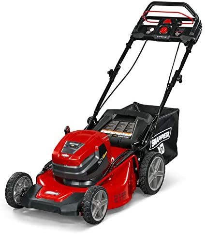 41OrTEEI6sL. AC  - Snapper XD 82V MAX Step Sense Cordless Electric 21-Inch Lawn Mower Kit with (2) 2.0 Batteries and (1) Rapid Charger