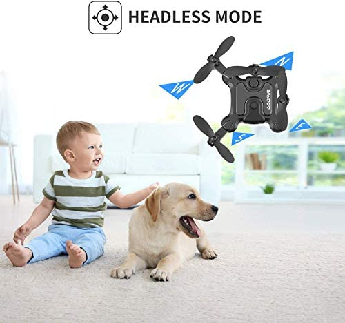 41WMG0OfYWL. AC  - 4DRC V2 Foldable Mini Nano Drone for Kids Beginners Gift,Pocket RC Quadcopter with 3 Batteries,Altitude Hold, Headless Mode, 3D Flips, One Key Return, 3 Speed Modes, Easy Fly for Beginners Boys Girls