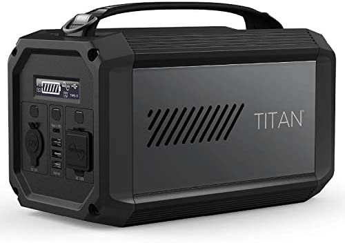 41kMfJi5RCL. AC  - X-Doria Raptic Titan Portable Power Station (Formerly Defense Titan), 225Wh Backup Lithium Battery, Generator for Outdoors Camping Festivals Travel Emergency