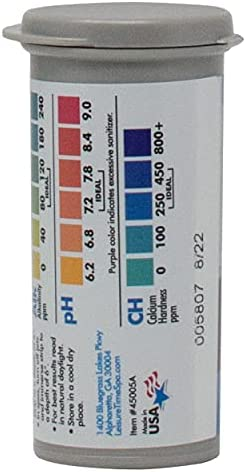 41owRZha2kS. AC  - Leisure Time 45005A Spa & Hot Tub Test Strips 4-Way Bromine Testers, 50 ct