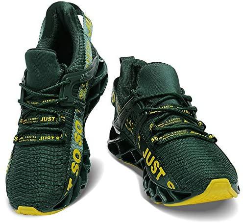 51HrXzP BxL. AC  - COKAFIL Mens Running Shoes Athletic Walking Blade Tennis Shoes Fashion Sneakers