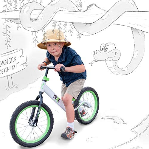 """51Kr5GQDx8L. AC  - Bixe 16"""" Pro Balance Bike for for Big Kids 5, 6, 7, 8 and 9 Years Old"""