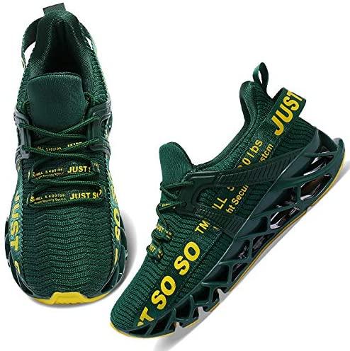 51Q71vnYPmL. AC  - COKAFIL Mens Running Shoes Athletic Walking Blade Tennis Shoes Fashion Sneakers