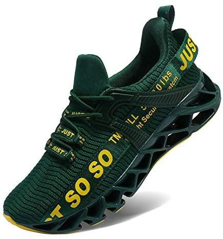 51Rd4SB9QhL. AC  - COKAFIL Mens Running Shoes Athletic Walking Blade Tennis Shoes Fashion Sneakers