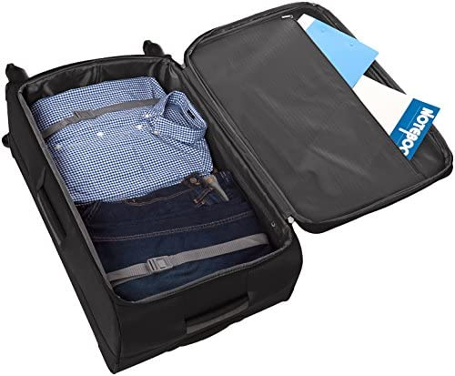 51YI1A9xfNL. AC  - Amazon Basics Softside Spinner Luggage Suitcase - 30.9 Inch, Black