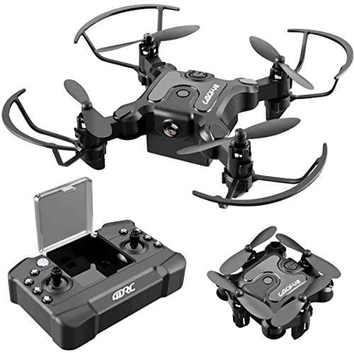 51Z6eo5d OL. AC  - 4DRC V2 Foldable Mini Nano Drone for Kids Beginners Gift,Pocket RC Quadcopter with 3 Batteries,Altitude Hold, Headless Mode, 3D Flips, One Key Return, 3 Speed Modes, Easy Fly for Beginners Boys Girls