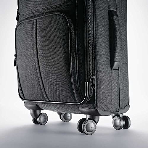 51mXc+AGf0L. AC  - Samsonite Leverage LTE Softside Expandable Luggage with Spinner Wheels, Charcoal, Carry-On 20-Inch