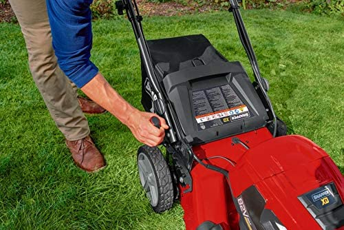 51o5nwUMyYL. AC  - Snapper XD 82V MAX Step Sense Cordless Electric 21-Inch Lawn Mower Kit with (2) 2.0 Batteries and (1) Rapid Charger