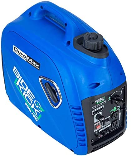 51yVOjKTvYL. AC  - DuroMax XP2200EH Dual Fuel Portable Inverter Generator-2200 Watt Gas or Propane Powered Tailgate, Camping & RV Ready, 50 State Approved, Blue