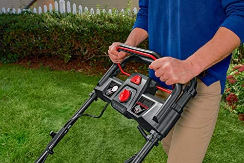 51yp4k6rleL. AC  - Snapper XD 82V MAX Step Sense Cordless Electric 21-Inch Lawn Mower Kit with (2) 2.0 Batteries and (1) Rapid Charger