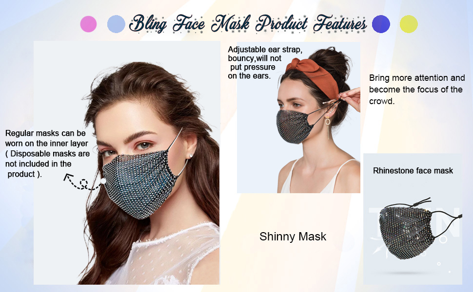 535b8d8d 1dc1 499f bc71 e66c303b2fee.  CR0,0,970,600 PT0 SX970 V1    - Sparkly Rhinestone Mesh Face Mask Masquerade Mask for Women Glitter Face Mask Bling Face Mask Christmas Party