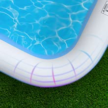 """5e48e019 d218 4b28 8472 5dc7943ab847.  CR0,0,400,400 PT0 SX220 V1    - COOYES Inflatable Pool, Swimming Pool for Kids 118"""" X 72"""" X 20"""" Full-Sized Inflatable Kiddie Pool for Outdoor, Garden, Summer Water Party"""