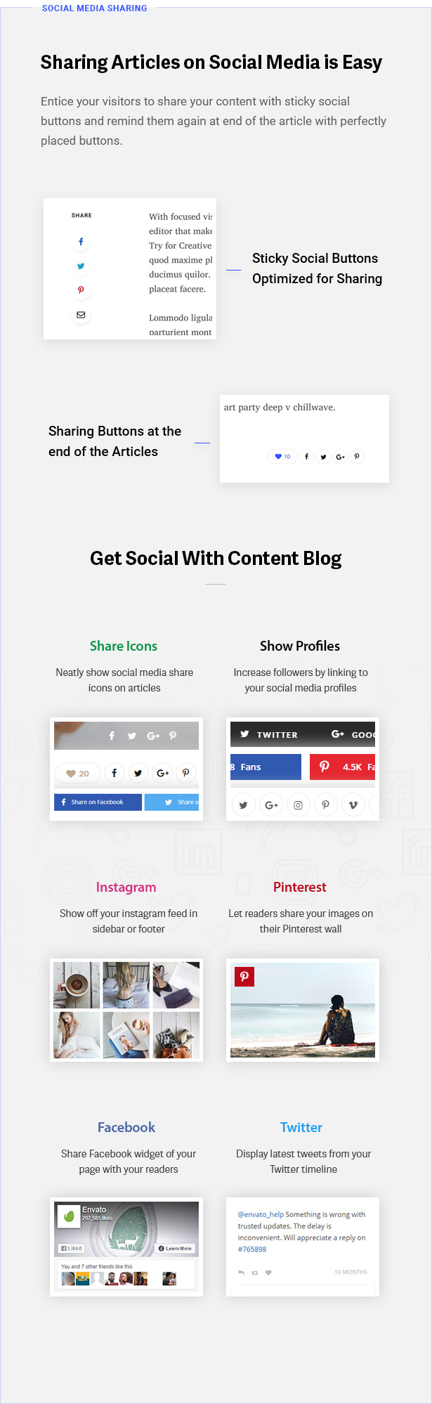 6 social - Contentberg - Content Marketing & Personal Blog