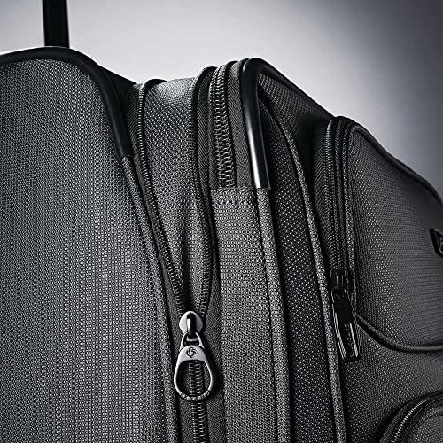61WU2TJ3fyL. AC  - Samsonite Leverage LTE Softside Expandable Luggage with Spinner Wheels, Charcoal, Carry-On 20-Inch