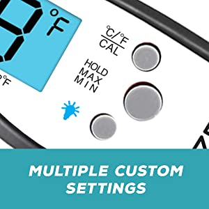 6eae1555 6f8f 4af2 a1e3 855ed169551a.  CR0,0,600,600 PT0 SX300 V1    - Kizen Digital Meat Thermometers for Cooking - Waterproof Instant Read Food Thermometer for Meat, Deep Frying, Baking, Outdoor Cooking, Grilling, & BBQ (Red/Black)