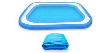 """6f99938d 0f1c 4b1b 846a a1ae803cc7b3.  CR0,0,350,175 PT0 SX350 V1    - COOYES Inflatable Pool, Swimming Pool for Kids 118"""" X 72"""" X 20"""" Full-Sized Inflatable Kiddie Pool for Outdoor, Garden, Summer Water Party"""