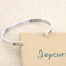 752ed4ca 274b 4d22 b193 9bd1880ff033. CR0,0,960,960 PT0 SX220   - Joycuff Inspirational Bracelets for Women Mom Personalized Gift for Her Engraved Mantra Cuff Bangle Crown Birthday Jewelry