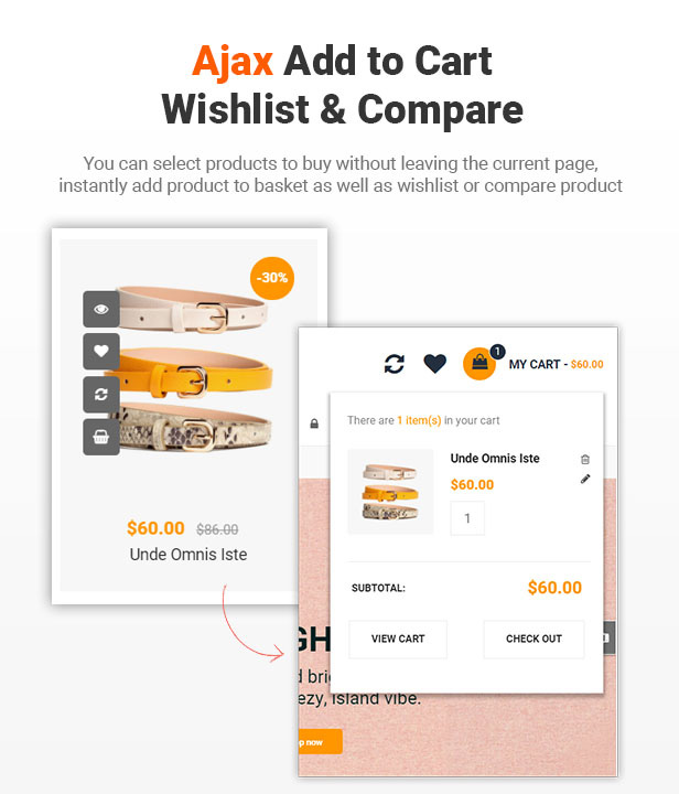 8 ajax add to cart - eMarket - Multi Vendor MarketPlace Elementor WordPress Theme (34+ Homepages & 3 Mobile Layouts)