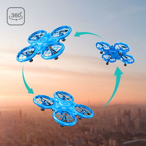 88726565 e0c8 4cc4 8de2 7130ab3f7f23.  CR0,0,300,300 PT0 SX300 V1    - Dragon Touch DK01 Mini Drones for Kids, Multiple Remote Controls-Hand Operated RC Quadcopter, G-Sensor Mode, 3D Flips, Altitude Hold, Headless Mode, One Key Return&Speed Adjustment