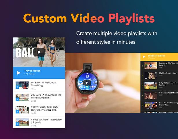 P14 videoplaylist - PenNews - Multi-Purpose AMP WordPress Theme