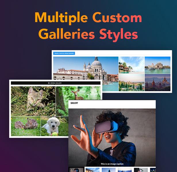 P15 Gallery - PenNews - Multi-Purpose AMP WordPress Theme