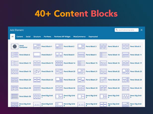 P16 Content Blocks - PenNews - Multi-Purpose AMP WordPress Theme