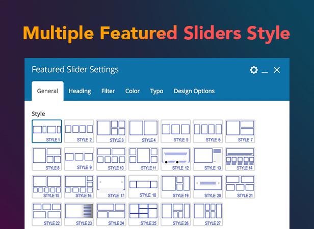 P17 Sliders3 - PenNews - Multi-Purpose AMP WordPress Theme