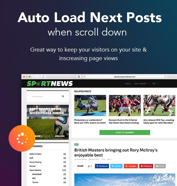 P19 AutoLoad - PenNews - Multi-Purpose AMP WordPress Theme