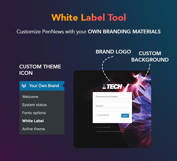 P22 WhiteLabel - PenNews - Multi-Purpose AMP WordPress Theme