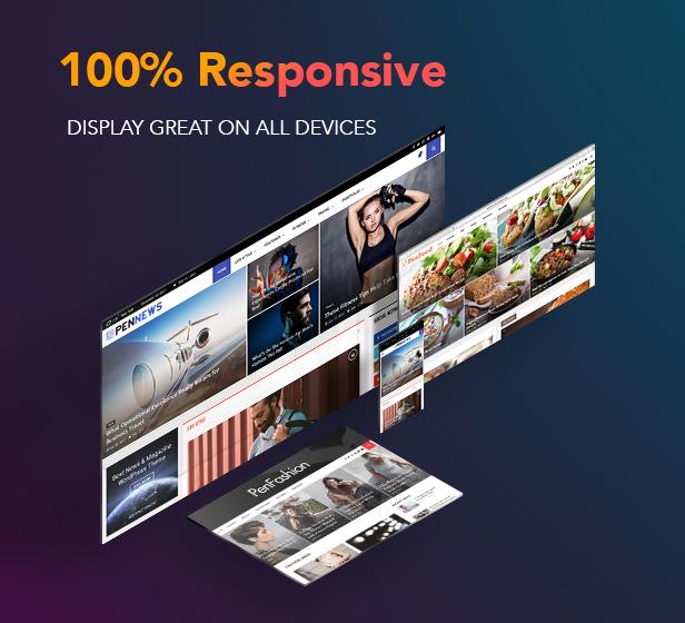 P23 Responsive3 - PenNews - Multi-Purpose AMP WordPress Theme