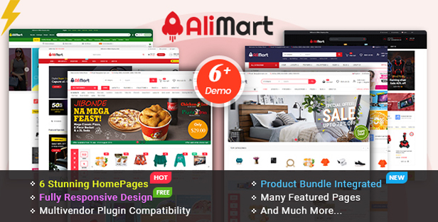 alimart - eMarket - Multi-purpose MarketPlace OpenCart 3 Theme (30+ Homepages & Mobile Layouts Included)