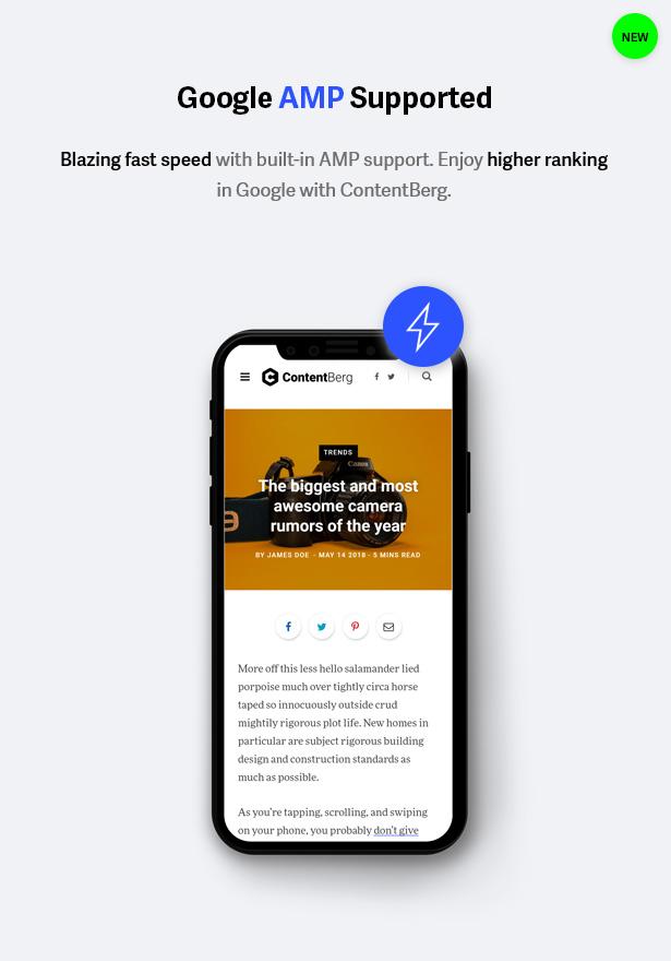 amp - Contentberg - Content Marketing & Personal Blog