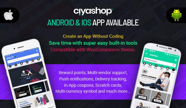 app - CiyaShop - Responsive Multi-Purpose WooCommerce WordPress Theme
