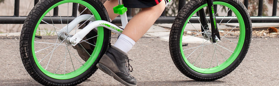 """b3f1d60b 1ec3 4433 8334 344197b583c6.  CR0,0,970,300 PT0 SX970 V1    - Bixe 16"""" Pro Balance Bike for for Big Kids 5, 6, 7, 8 and 9 Years Old"""