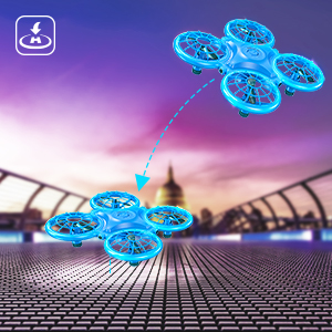 b9f19456 6c3b 435a b318 fbe95b16bb90.  CR0,0,300,300 PT0 SX300 V1    - Dragon Touch DK01 Mini Drones for Kids, Multiple Remote Controls-Hand Operated RC Quadcopter, G-Sensor Mode, 3D Flips, Altitude Hold, Headless Mode, One Key Return&Speed Adjustment