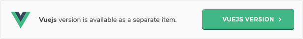 banner vuejs version - Gogo - React Admin Template