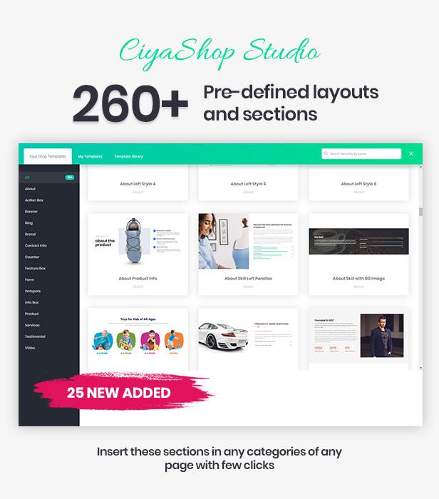 ciyashop studio2 - CiyaShop - Responsive Multi-Purpose WooCommerce WordPress Theme
