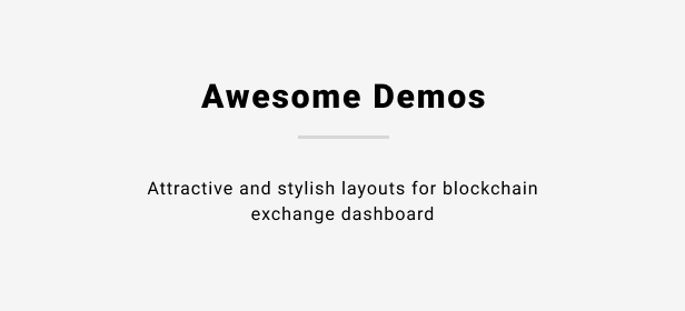 demo - Crypo - Cryptocurrency Trading Dashboard HTML Template